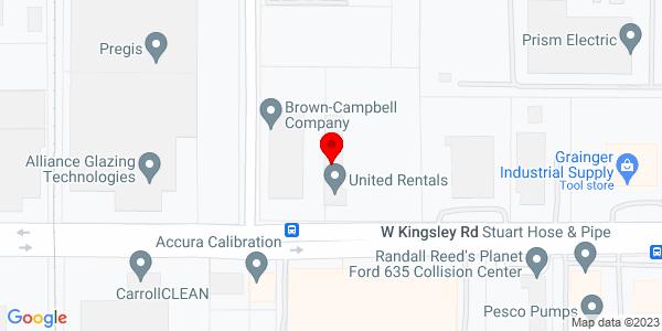 Google Map of +2809+W.+Kingsley+Road+Garland+TX+75041