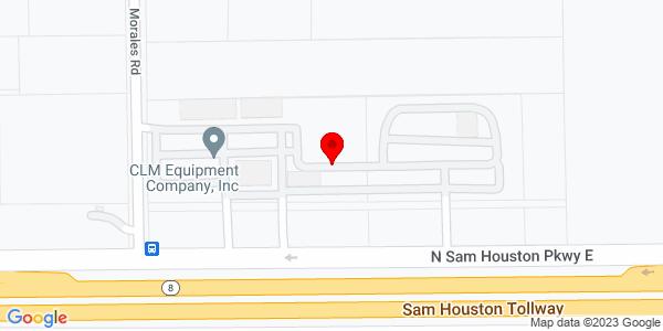 Google Map of +2815+N+Sam+Houston+Pkwy+East+Houston+TX+77032
