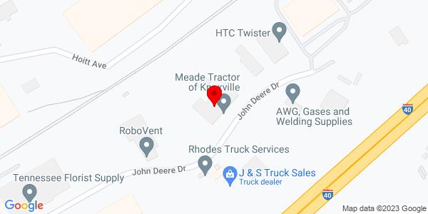Google Map of +2825+John+Deere+Drive++Knoxville+TN+37917