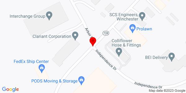Google Map of +287+Victory+Lane+Winchester+VA+22602