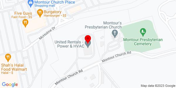 Google Map of +2901+Montour+Church+Road+Oakdale+PA+15071