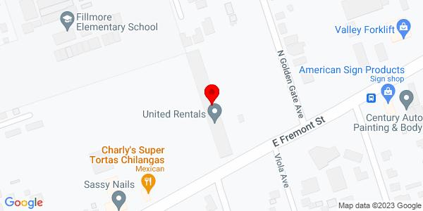 Google Map of +2911+East+Freemont+Street+Stockton+CA+95205