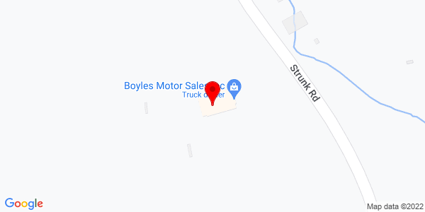 Google Map of +2955+Strunk+Road+Jamestown+NY+14701