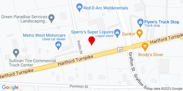 Google Map of +297+Hartford+Turnpike++++Shrewsbury%2C+MA+01545