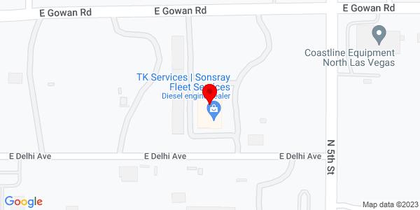 Google Map of +300+E+Delhi+Avenue+North+Las+Vegas+NV+89032
