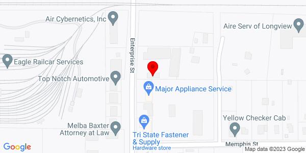 Google Map of +302+Enterprise+Street+Longview+TX+75604