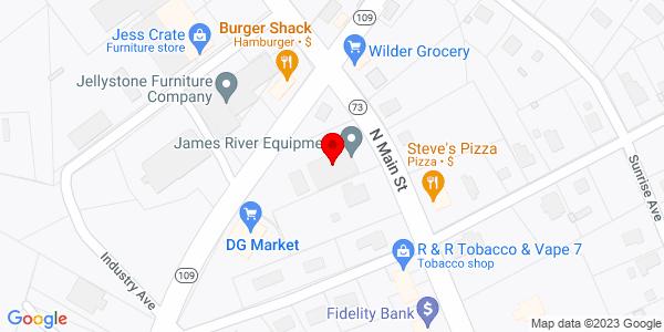 Google Map of +305+N.+Main+Street+Mt.+Gilead+NC+27306