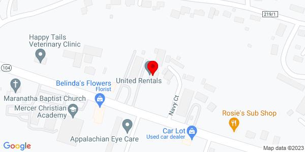 Google Map of +319+Oakvale+Road+Princeton+WV+24740