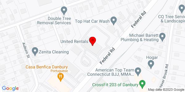 Google Map of +32+Federal+Road+Danbury+CT+06810