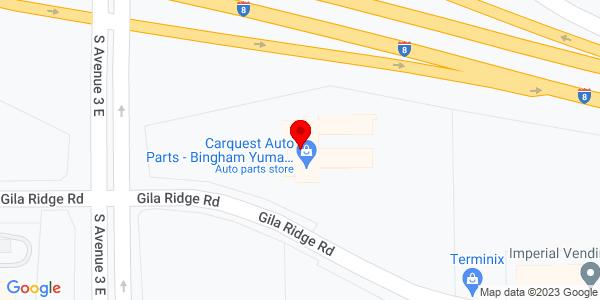 Google Map of +3214+E.+Gila+Ridge+Road+Yuma+AZ+85365
