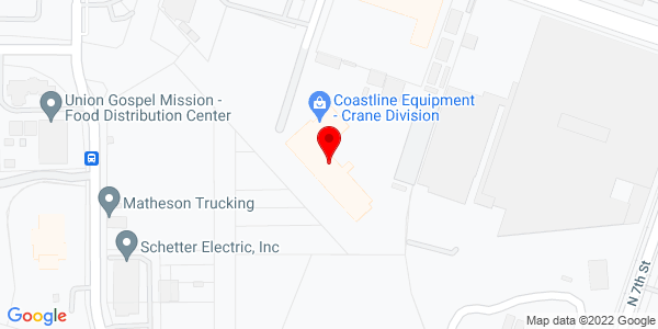 Google Map of +325+North+5th+Street%2C+Bldg.+A+Sacramento+CA+95811