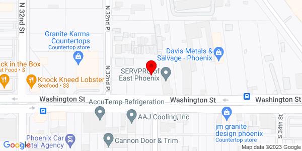 Google Map of +3266+East+Washington+Phoenix+AZ+85034