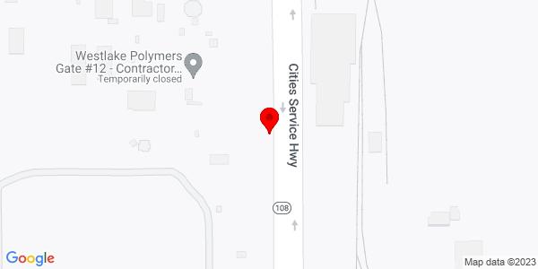 Google Map of +3301+Cities+Service+Hwy+Westlake+LA+70669