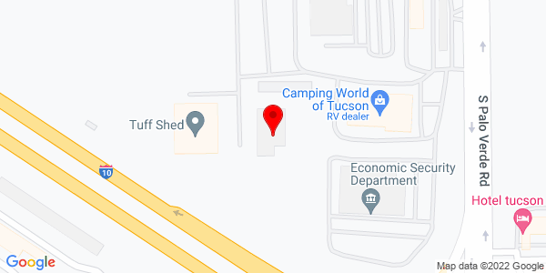 Google Map of +3350+East+Gas+Road+Tucson+AZ+85714