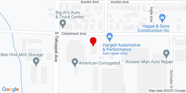 Google Map of +3400+Claremont+Avenue+Evansville+IN+47712