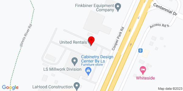 Google Map of +3407+N+Main+Street+East+Peoria+IL+61611