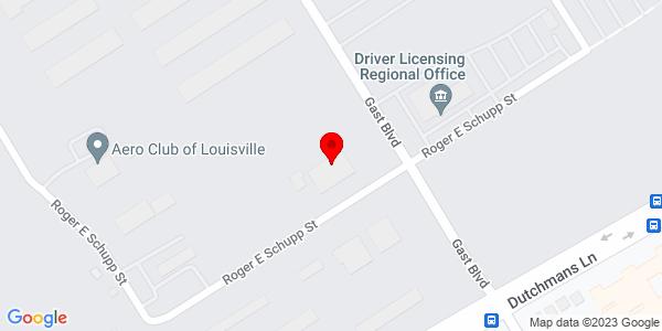 Google Map of +3485+Roger+E+Schupp+Louisville+KY+40205