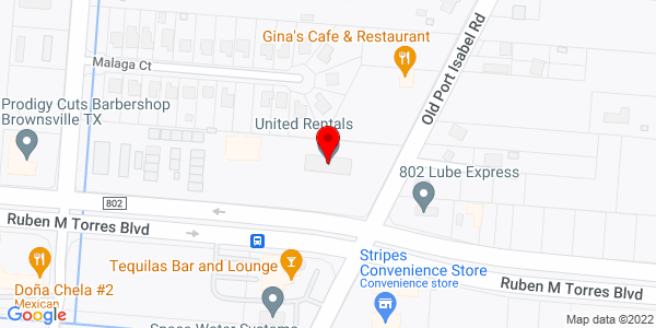 Google Map of +3495+E+Ruben+M.+Torres+Brownsville+TX+78521