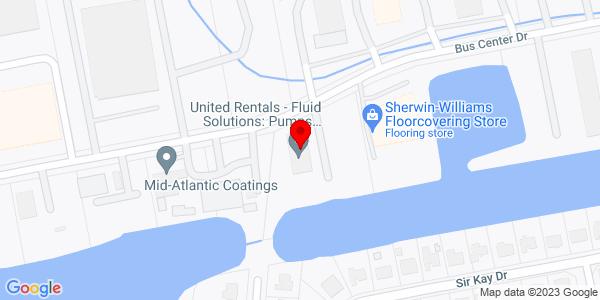 Google Map of +3501+Business+Center+Drive+Chesapeake+VA+23323