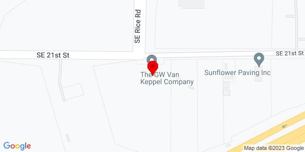 Google Map of +3501+SE+21st+Street+Topeka+KS+68607