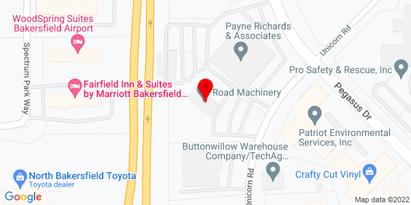 Google Map of +3501+Unicorn+Road+Bakersfield+CA+93308