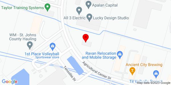 Google Map of +3510+Agricultural+Center+Dr+St+Augustine+FL+32080