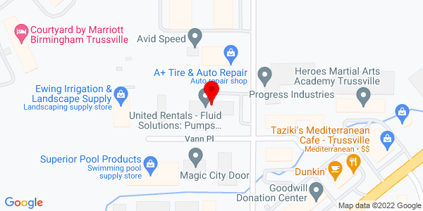 Google Map of +3580+Vann+Road+Birmingham+AL+35235