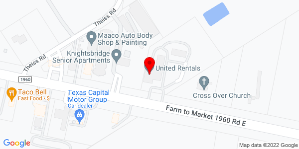 Google Map of +3595+F.M.+1960+West+Humble+TX+77338