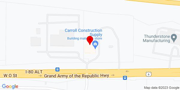 Google Map of +3600+West+O+Street+Lincoln+NE+68528