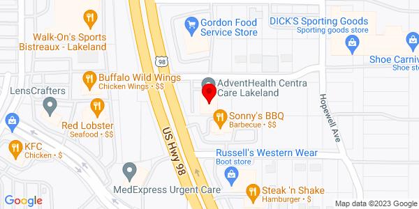 Google Map of +3635+Us+Hwy.+98+N.+Lakeland+FL+33809