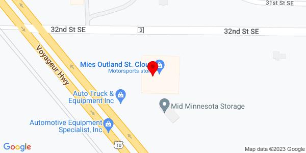 Google Map of +3653+32nd+Street+SE+St+Cloud+MN+56304