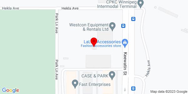 Google Map of +370+Keewatin+Street++Winnipeg+MB+R2X+2R9