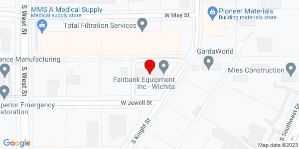 Google Map of +3700+W+Jewell+Street+Wichita+KS+67213