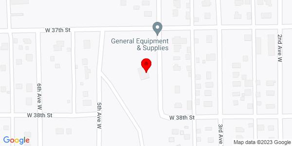 Google Map of +3715+4th+Avenue+W+Hibbing+MN+55746