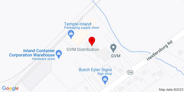 Google Map of +374+Heidlersburg+Rd%2C+PO+Box+358+Biglerville+PA+17307