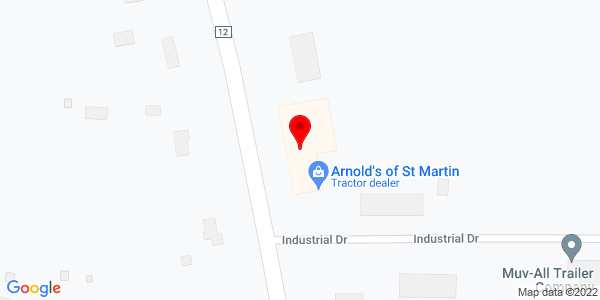 Google Map of +374+Industrial+Drive++St.+Martin+MN+56376