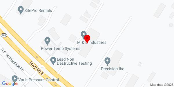Google Map of +3811+Hwy+90+East+Broussard+LA+70518