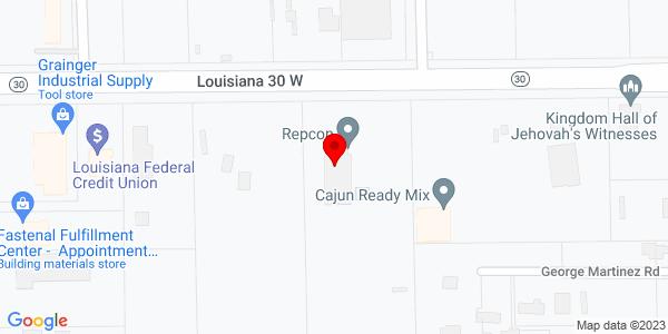 Google Map of +38385+Highway+30+Gonzales+LA+70737
