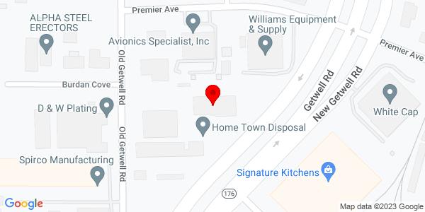 Google Map of +3849+New+Getwell+Road+Memphis+TN+