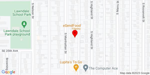Google Map of +3900+1-40+East+Amarillo+TX+79103