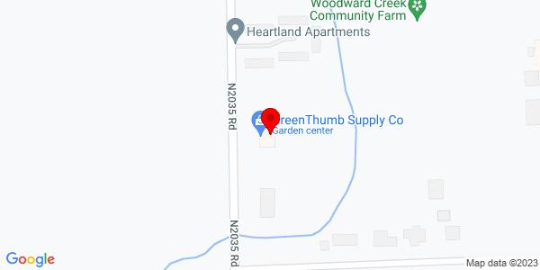 Google Map of +3900+1St+Street+Woodward+OK+73801
