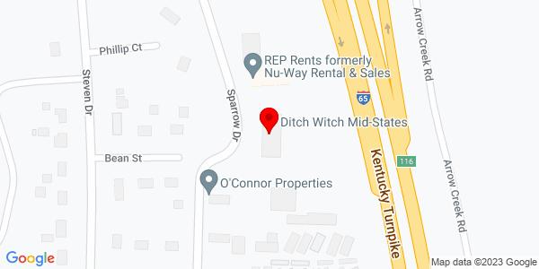 Google Map of +400+Sparrow+Drive+Shepherdsville+%28Louisville%29+KY+40165