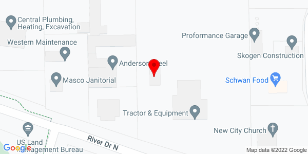 Google Map of +4001+River+Drive+N+Great+Falls+MT+59045
