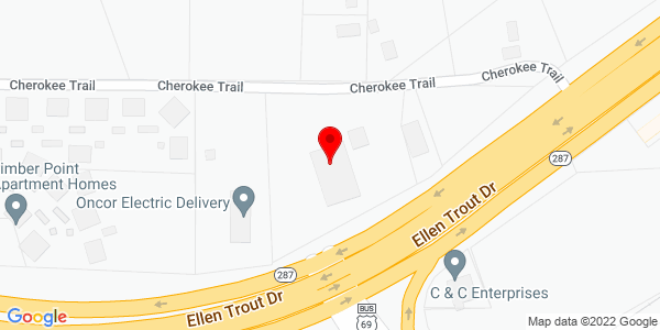 Google Map of +4006+Ellen+Trout+Drive+Lufkin+TX+75903