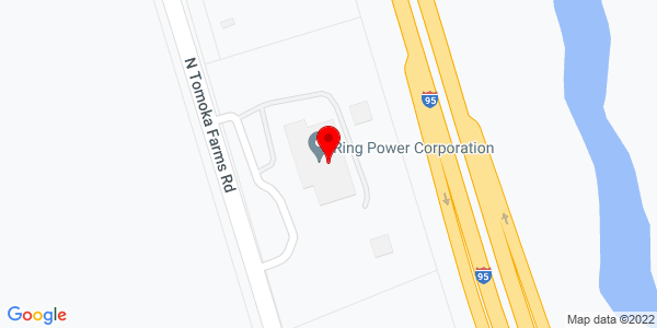 Google Map of +401+North+Tomoka+Farms+Road+Daytona+Beach+FL+32124