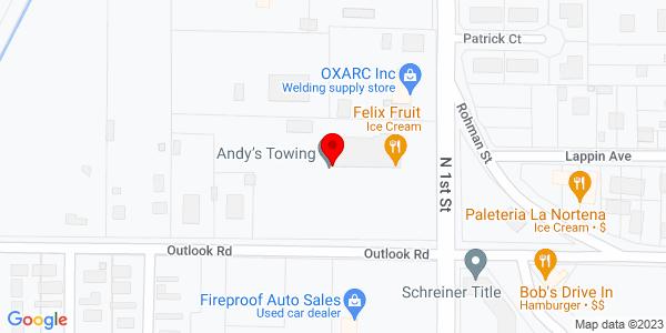 Google Map of +405+Scoon+Road+Sunnyside+WA+98944