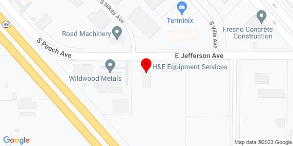 Google Map of +4199+E+Jefferson+Ave+Fresno+CA+93725
