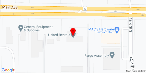 Google Map of +4242+Main+Avenue+Fargo+ND+58103
