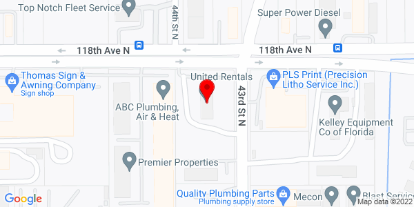 Google Map of +4300+118Th+Avenue+Nor+Clearwater+FL+33762