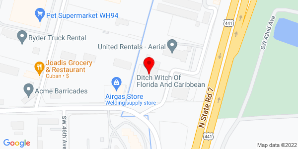 Google Map of +4501+Oakes+Road+Ft.+Lauderdale+FL+33314
